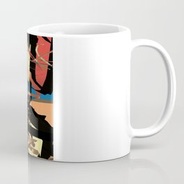 Nietzsche Walks Out At Bayreuth (The Theater of Noisea)  Coffee Mug