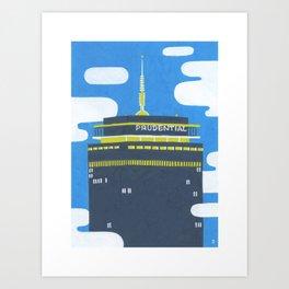 The Pru - Boston Landmarks Art Print