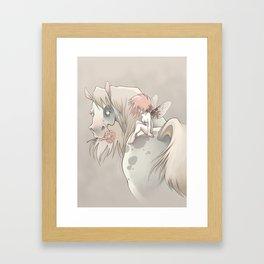 Horsefly Framed Art Print