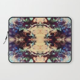 Abstract Colorful Batik Butterfly Pattern Laptop Sleeve
