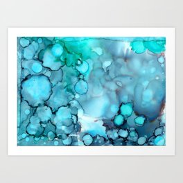 Daydreaming 2 Abstract Painting Art Print