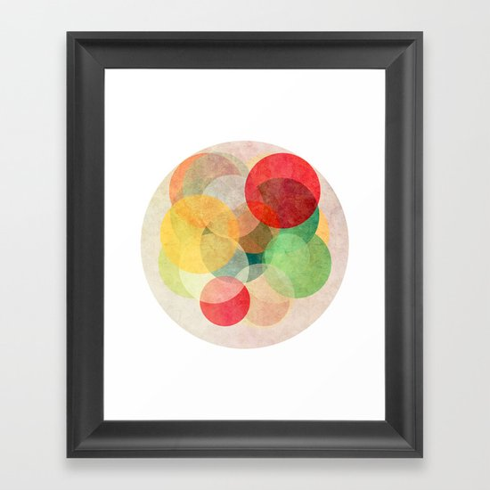 The Round Ones Framed Art Print