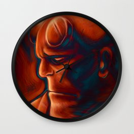 The Right Hand of Doom Wall Clock