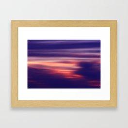 Dusk Dream Framed Art Print