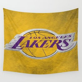 Los Angeles Laker Wall Tapestry