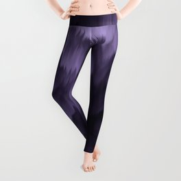 Purple and black. Abstract. Leggings