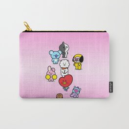 BTS BT21 Characters Carry-All Pouch
