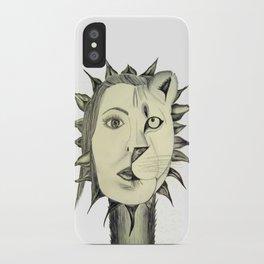 Sun Warrior iPhone Case