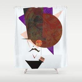 A Distinguished Gentleman Shower Curtain
