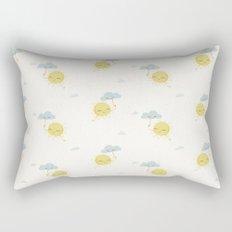 Little Sun white Rectangular Pillow