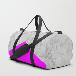 Concrete Arrow - Neon Purple #728 Duffle Bag