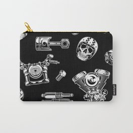 Cafe Racer Pattern Carry-All Pouch