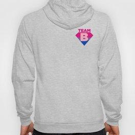 Team B Bisexual Symbol - Bi Sexual Flag Sign Gift Design Hoody