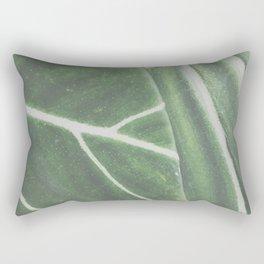 overlapping leaves Rectangular Pillow