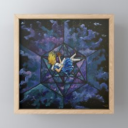 The Rabbit Hole Framed Mini Art Print