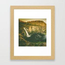 Hidden Waterfall Framed Art Print