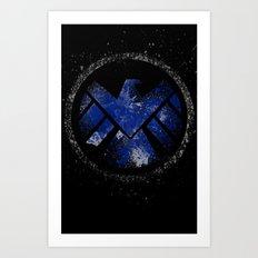 Avengers - SHIELD Art Print