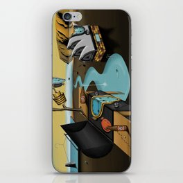 Where Time Stands Still - Surreal Sydney  iPhone Skin