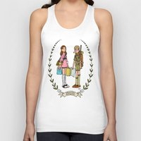 moonrise kingdom Tank Tops featuring Moonrise Kingdom  by Dueling Doodlers