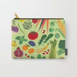 Fruits and Veggies Carry-All Pouch