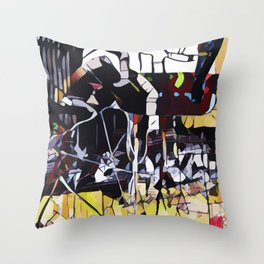 Abstract 50 #2 Throw Pillow