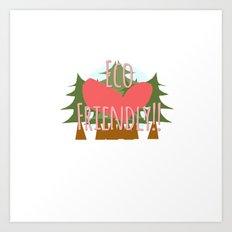 EcoFriendly Art Print