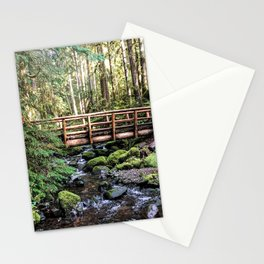 Wanderlust Beauty // Take Me to the Forest Where the Peaceful Waters Flow in the Dense Woods Stationery Cards