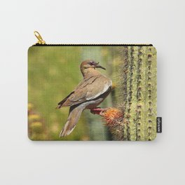 Perching On A Saguaro Cactus Carry-All Pouch