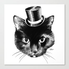 Cat Fancy Canvas Print