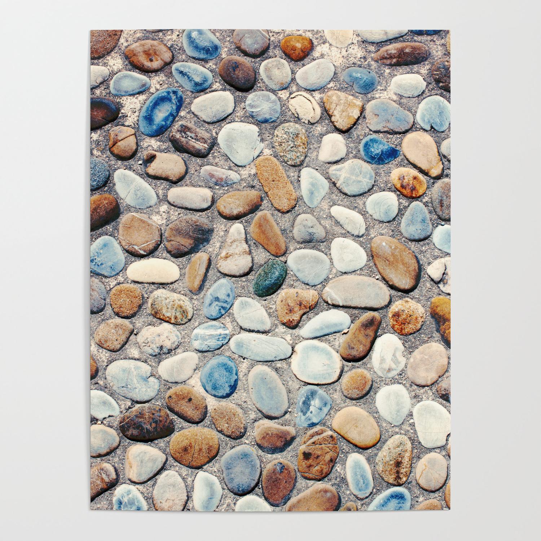 Pebble Rock Flooring V Poster By Skaya1