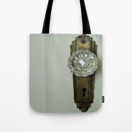 Glass Door Knob Tote Bag