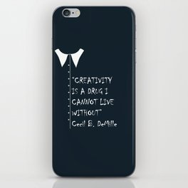 QUOTE-4 iPhone Skin