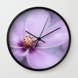PURPLE PANO Wall Clock