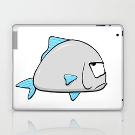 Scribble2Masterpiece - GROUCHY FISH! Laptop & iPad Skin