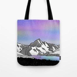 Aoraki Mount Cook Tote Bag