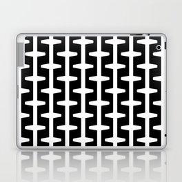 Geometric Pattern 207 (black white) Laptop & iPad Skin