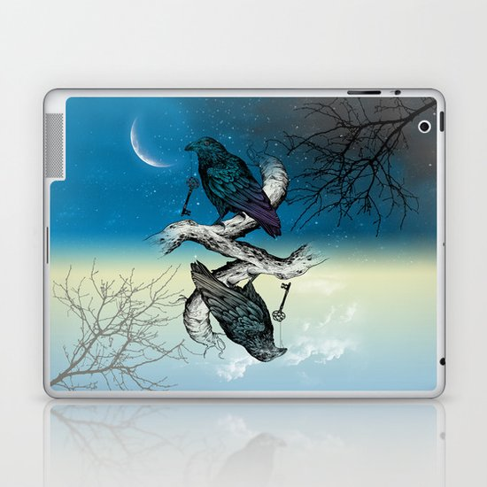 Raven's Key Night+Day Laptop & iPad Skin