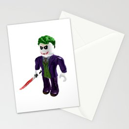 The Joker - Roblox Stationery Cards