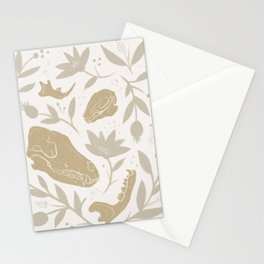 Forest Floor - Gold Stationery Cards