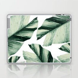Tropical Banana Leaves Vibes #1 #foliage #decor #art #society6 Laptop & iPad Skin