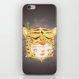DRUNKEN TIGAAAAR iPhone Skin