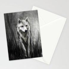 Northern Wolf Stationery Cards