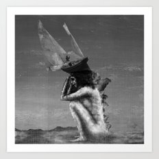 Pirate Ghost Art Print