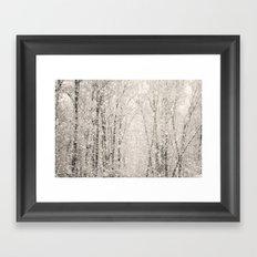 The White Stuff Framed Art Print