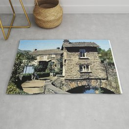 Old Bridge House Ambleside Cumbria England Rug