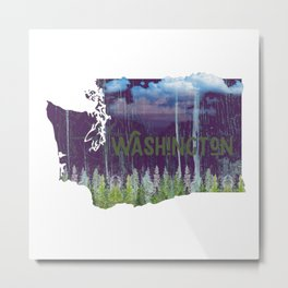 Washington - Evergreen State Metal Print