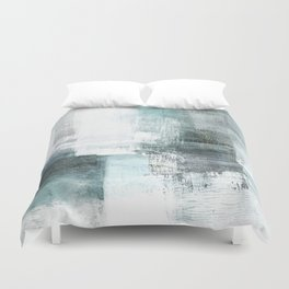Atmospheric Contemporary Abstract Landscape Painting Duvet Cover