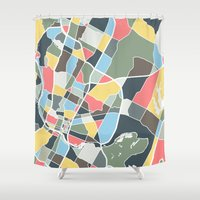 texas Shower Curtains featuring Austin Texas. by Studio Tesouro