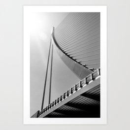 Assut de l'Or Bridge Art Print