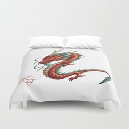 Dragon pure Duvet Cover